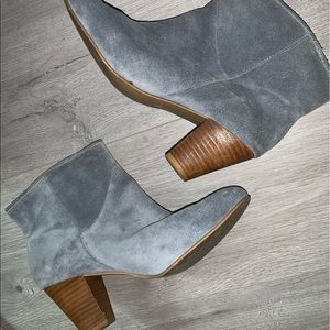 Mia limited edition genuine suede booties